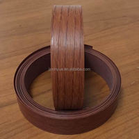 wood color pvc edge band tape for furniture kitchen cabinet