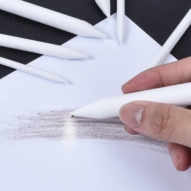 23pcs Mélange Papier souches art dessin Stump gomme Extender Sketch Outils Cadeau