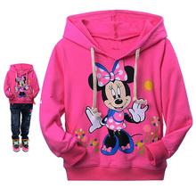 2016 outono nova Olá Kitty meninas roupas de manga longa crianças hoodies camisolas dos miúdos roupas
