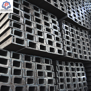 high quality U channel steel metal building materials 100*50*5.0 weight