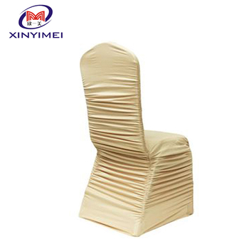 wholesale wedding seat chair cover round back cheap chair cover