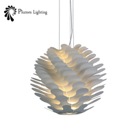 Flower Shade Hanging Lamp Modern E27 Acrylic Pendant Lamp