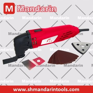 220W Variable-speed renovator multi-tool oscillating saws for cutting, polishing, sanding