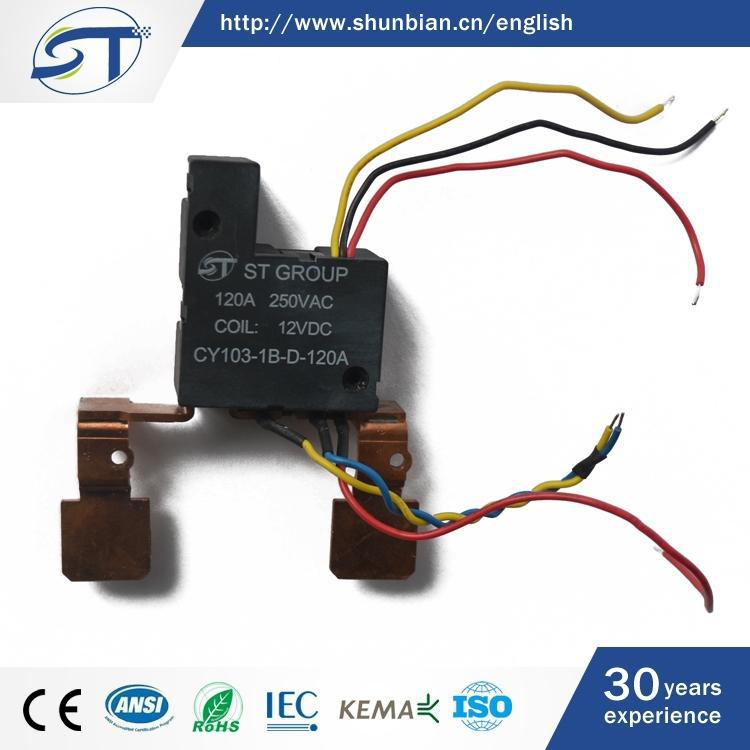 Electromagnetic Type High Power Sealed Electrical Equipment Promotional 4117 Relay