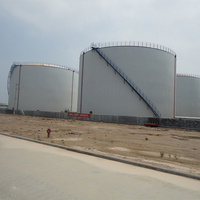 Carbon steel field welding floating roof gasoline alcoholstorage tanks