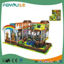 Naughty Castle Euro Style PVC Coated LLDPE Professional Manufacturer Indoor Playground