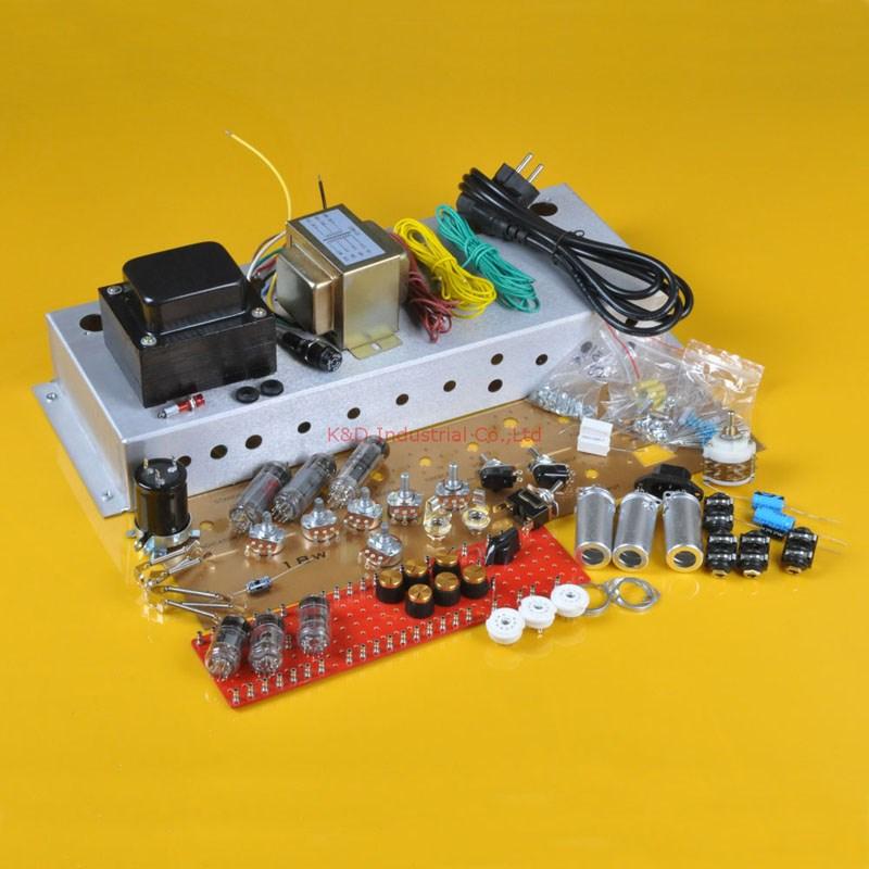 classic british 18w 18watt tube guitar amp kit chassis diy el84 amplifier buy guitar amp kit. Black Bedroom Furniture Sets. Home Design Ideas