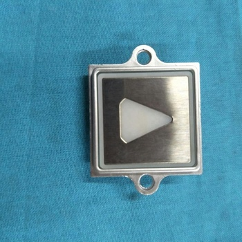 Kone elevtaor square push button with ear