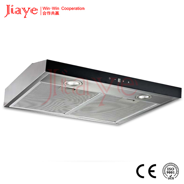 Touch control slim hood/60CM under cabinet range hood/Commercial kitchen hood JY-HS6009