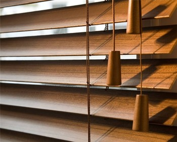 25mm 35mm 50mm Wooden Venetian Blinds With Ladder Tape