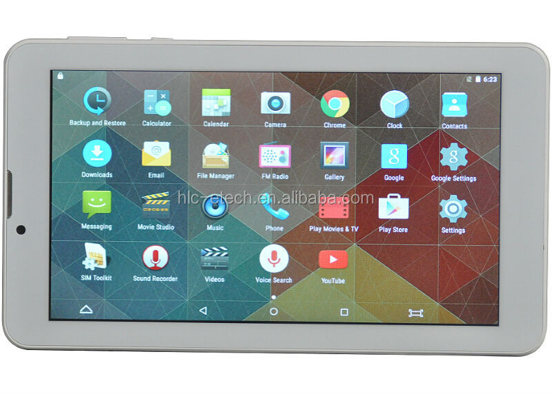 professional factory 7 inch 3G calling tablet pc free download google games/education APPS for children 1GB+8GB android 5.1