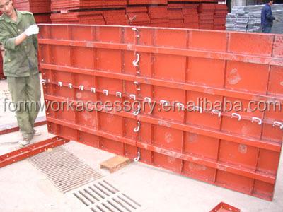 Full Metal Concrete Form Work Gang Form Buy Steel Form