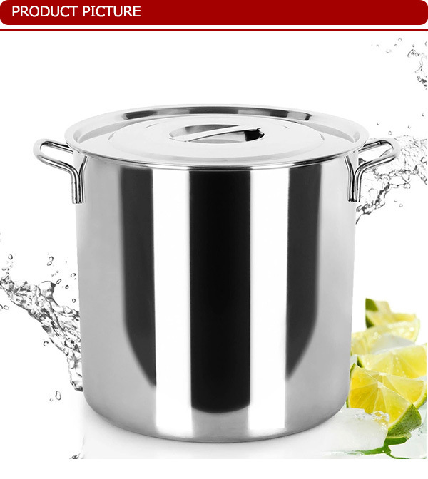Tt-8090 Stainless Steel Stock Pot/big Cooking Pot For India Market ...