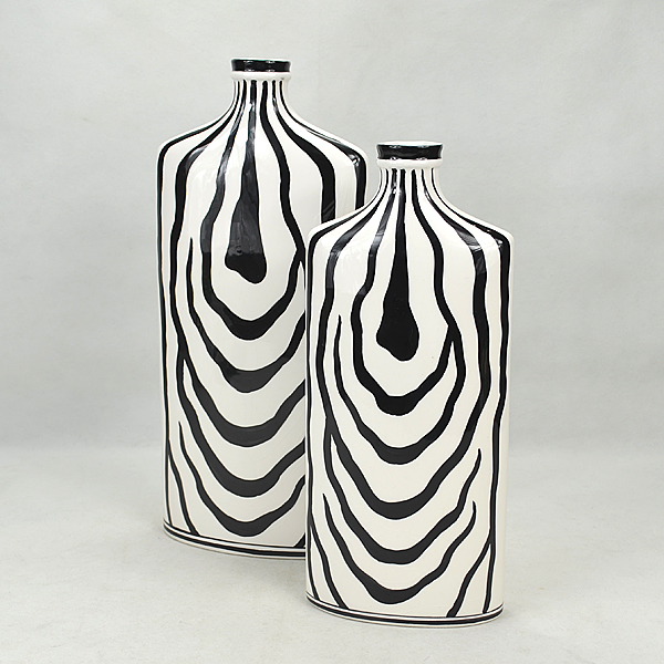 China Vases Black Zebra China Vases Black Zebra Manufacturers And