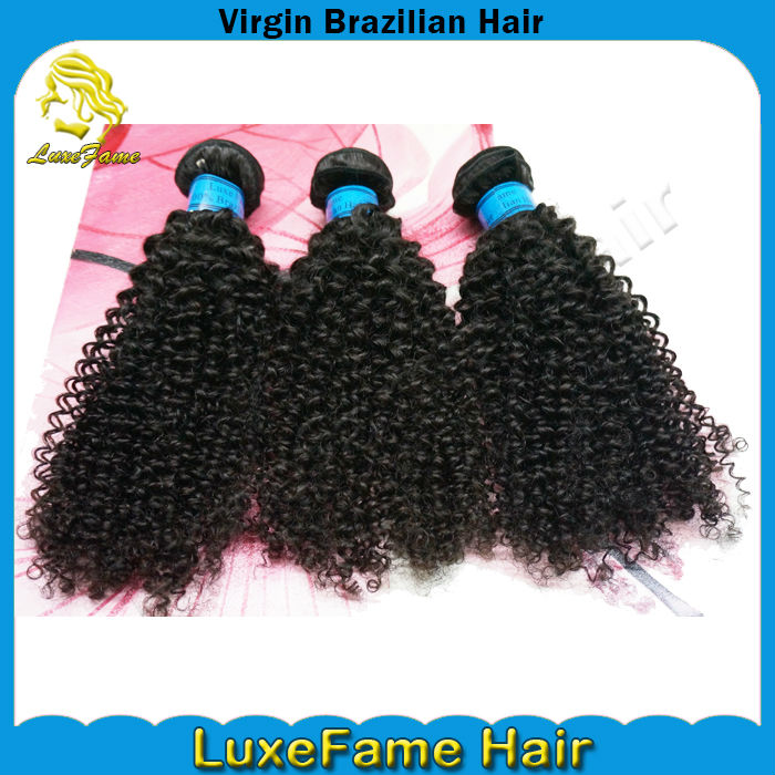 fast shipping wholesale kinky curly brazilian remy hair extention