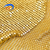 luxury metallic cloth sequin fabric metal mesh for bags products