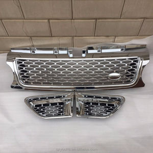 Full chrome grille and side air intake grille for Range Rover Sport 2010 HSE Autobiography