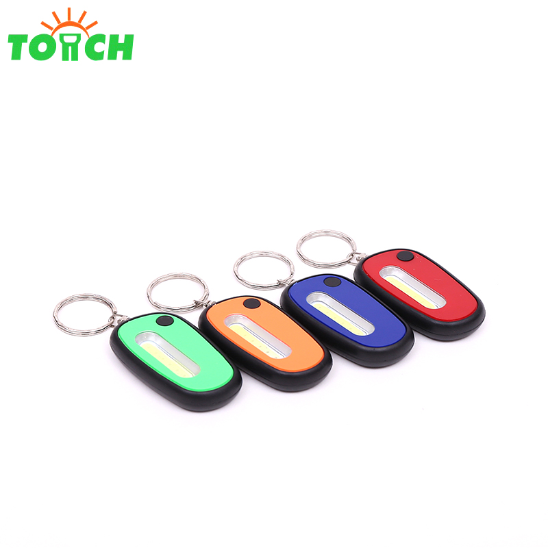 China supplier Yiwu iterm pocket keychain light high power cob key chain light