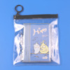 Transparent clear plastic vinyl bag PVC zipper pouch
