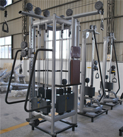 2018 crossfit 5 in 1 high quality 5 stations exercise equipment