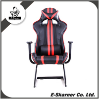 E-Skarner high quality PU leather with beautiful realistic design racing gaming computer chair