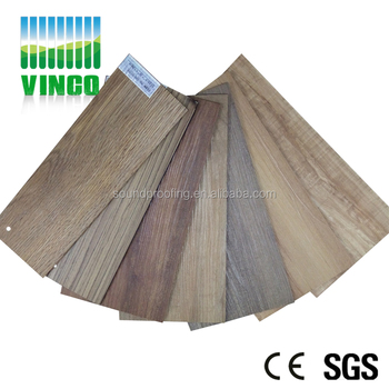 Wood Look Rubber Flooring Residential Sound Insulation Flooring