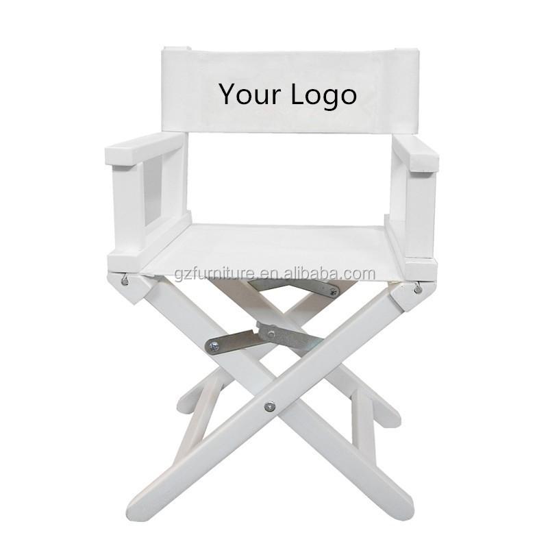 blanc couleur en bois directeur chaise fauteuil metteur en sc ne enfant buy en bois directeur. Black Bedroom Furniture Sets. Home Design Ideas
