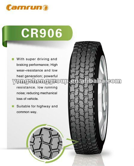 Camrun brand Hankook technology truck tire 11r22.5 and 11r24.5