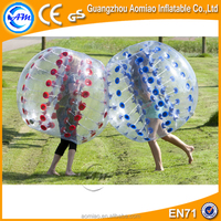 Big discount! inflatable bubble soccer , inflatable belly bumper ball for adult play football