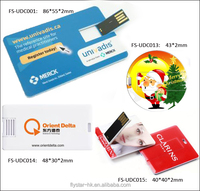 Promotion blank credit card usb with factory price, plastic business credit card flash drive 8GB