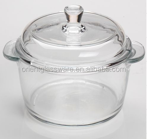 High Quality Borosilicate Clear Pyrex Glass Cooking Pot Buy Pyrex Glass Cooking Pot Clear