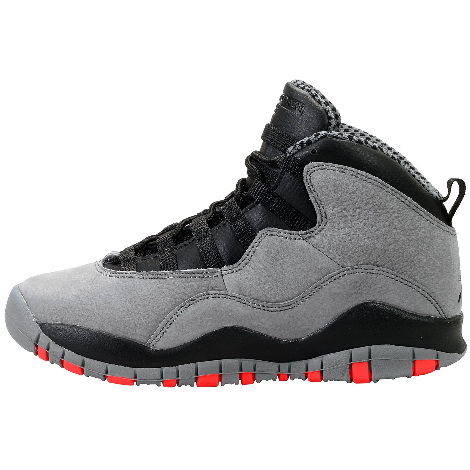 Nike Air Jordan 10 Retro Kids (GS) Grade School Cool Grey/Black/Infrared 310806-023