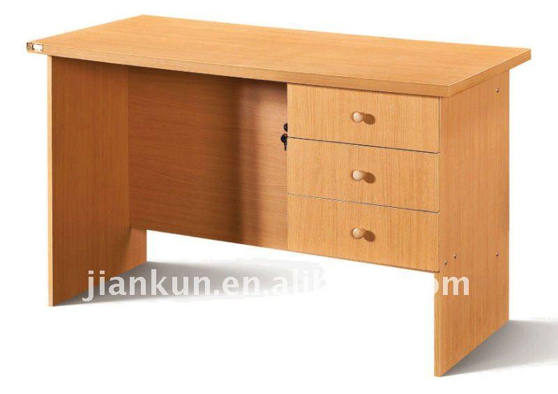Madera escritorio de la computadora de la oficina pvc - Escritorios de madera para oficina ...