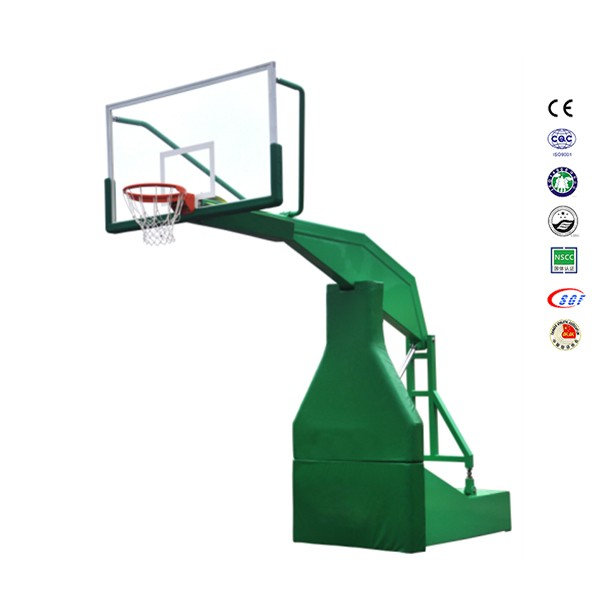 Heavy 2.25m extension basketball hoop fixed basketball backboard for training