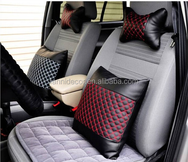 Embroidery Leather Rexine For Making Car Seat Back Cushion