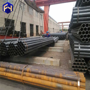 Black Pipes ! black iron tubing used for transmission pipeline with great price