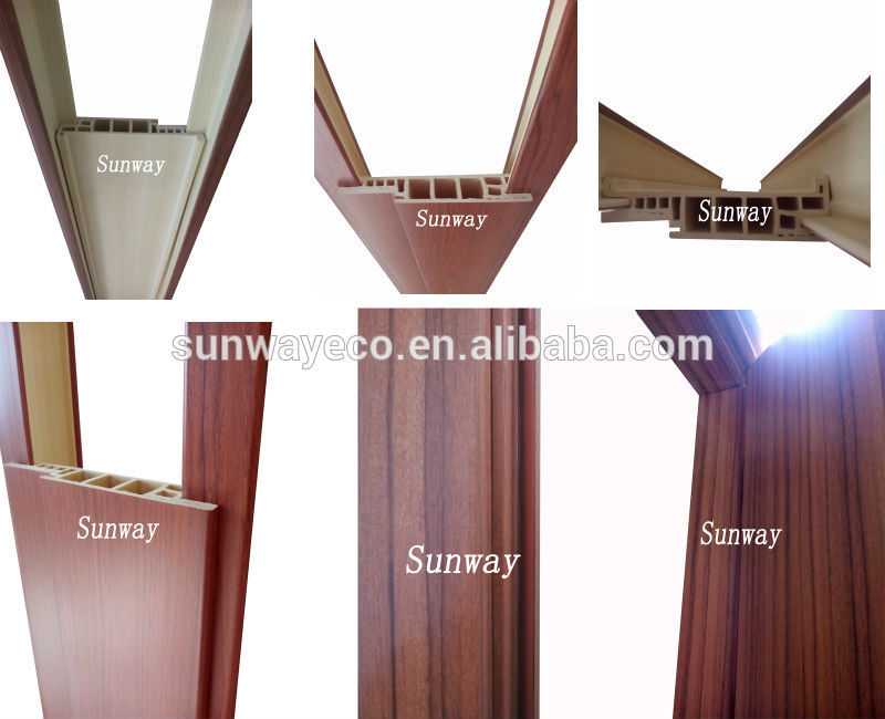 Eco-friendly decorative wooden door frame mouldings