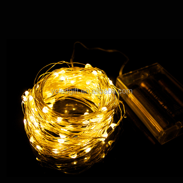 Clothes Flower Decoration Wholesale Micro Copper Wire Led String ...