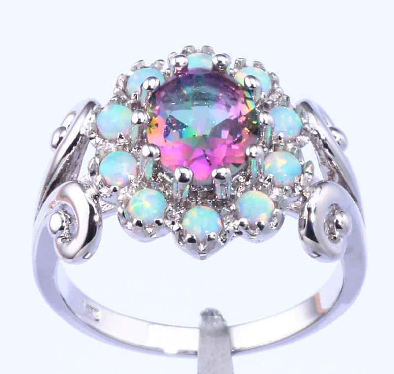 and oval accented silver ring jewelry diamond dp ca sterling rings amazon topaz fire size mystic