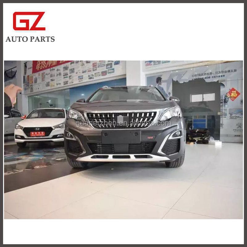Side step board bumper guard for 2017 new Peugeot 3008