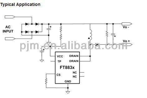 FT883C Non-isolated Buck-Boost IC Charger Laptop