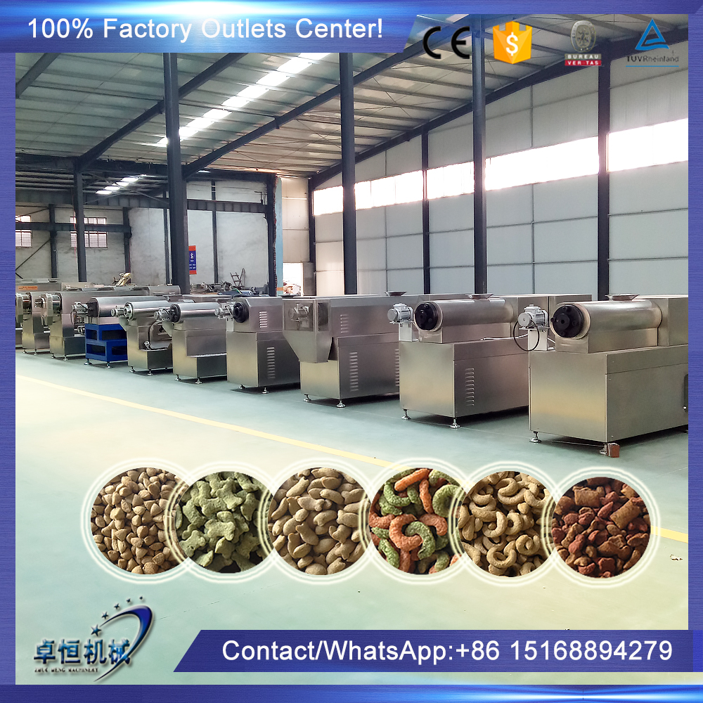 CE Certificate Fish feed machine/making machinery/manufacturer