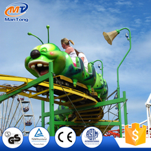 Carnival caterpillar roller coaster rides for kids with cheap price