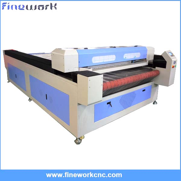 Low cost 2 heads portable CO2 leather laser cutting machine 1325