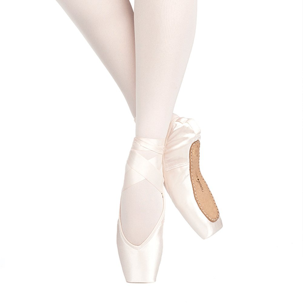 Russian Pointe Rubin Pointe Shoes, V-Cut Flexible Soft Shank