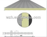 PU/PIR heat insulaton sandwich roofing/wall panel, polyurethane sandwich panel