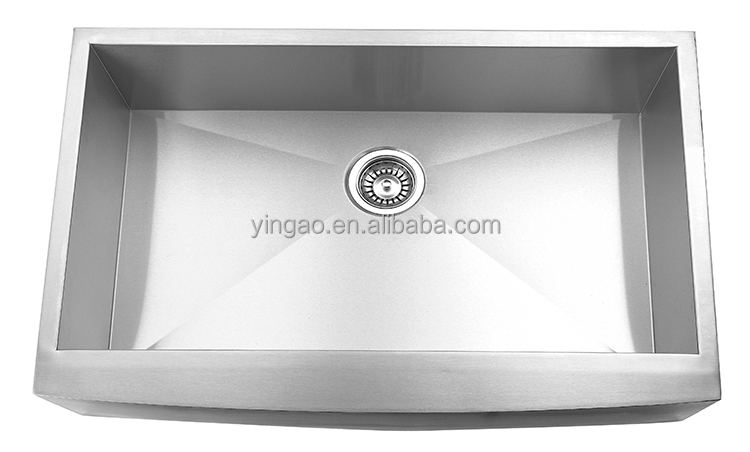 Deft design stainless steel commercial sinks, sink baskets
