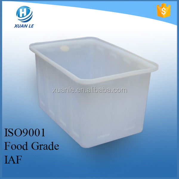 New design plastic toilet water tank for tilapia fish farming