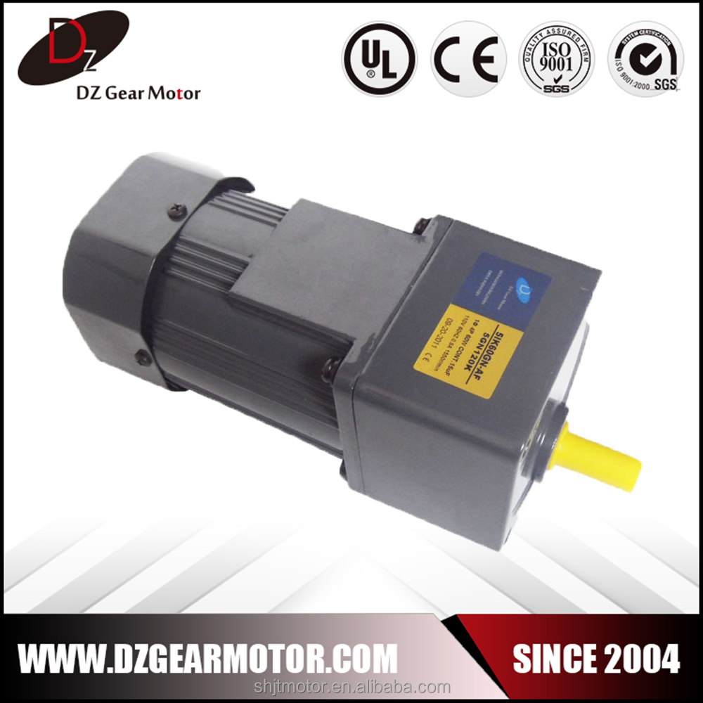 Factory supplier high quality 110v ac small gear reduction electric motor