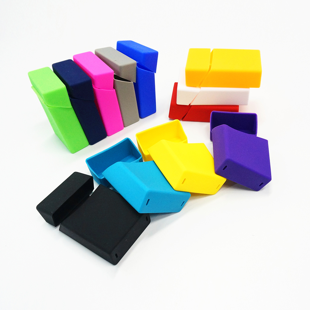Custom eco-friendly food grade silicone cigarette case
